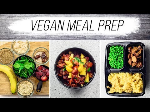 Vegan Meal Prep   Healthy and Delicious Meals with Recipes   What I Eat in a Day