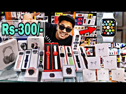 Smart Watch In HYDERABAD | FREE Airpods | 😱🔥 | Mobile Accessories | Mushitube Lifestyle