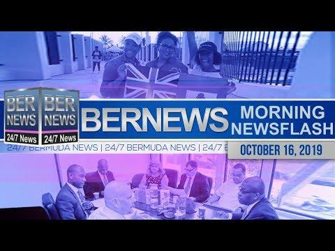 Bermuda Newsflash For Wednesday, October 16, 2019