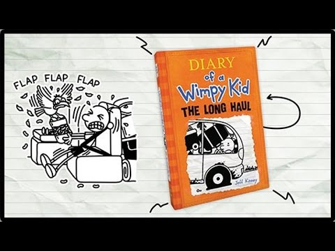 Diary Of A Wimpy Kid The Long Haul By Jeff Kinney Youtube