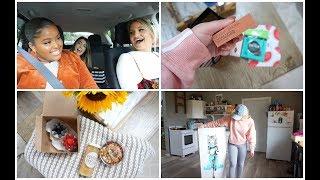 Vlog:  BOSTON GIRLS SHOPPING DAY & KING BED!