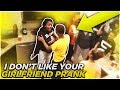 I DONT LIKE YOUR GIRLFRIEND JALIYAH PRANK ON MY SON FUNNYMIKE!!