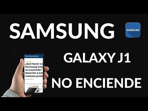 ¿Qué Hacer Cuando Samsung Galaxy J1 NO Enciende?