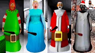 All the Mods of Granny ► by Abegi Jo ► MERRY CHRISTMAS ELF ►  The evolution №12