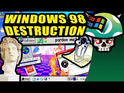 [Vinesauce] Joel - Windows 98 Destruction