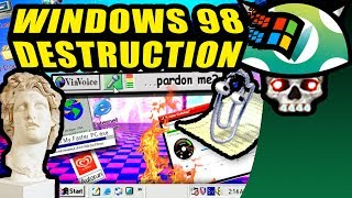 [Vinesauce] Joel - Windows 98 Destruction