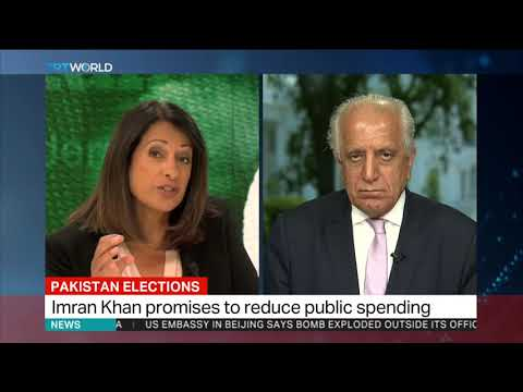 Imran Khan's Victory: Ambassador Zalmay Khalilzad talks to TRT World