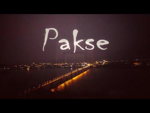 PAKSE, LAOS, ຂຶ້ນພູຊົມເມືອງຍາມແລງ   ปากเช  