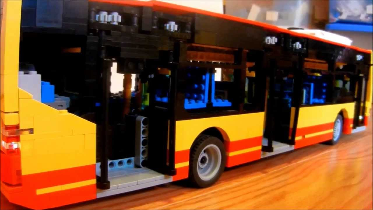 Lego Mercedes-Benz O530 Citaro Bus - YouTube