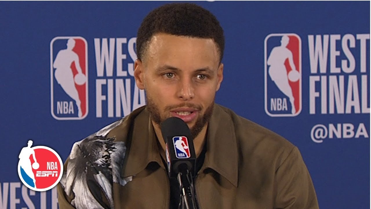 Winning without KD 'requires a certain amount of toughness' - Steph Curry | 2019 NBA Playoffs