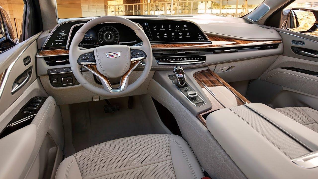 2021 Cadillac Escalade - INTERIOR - YouTube
