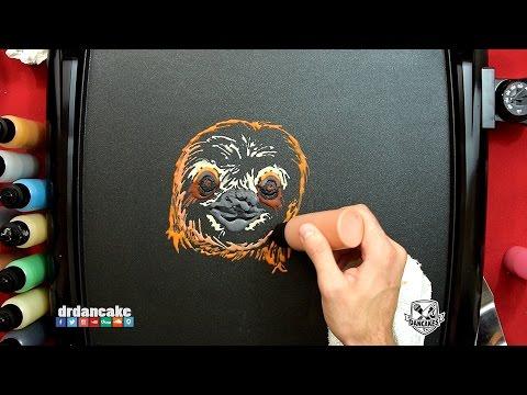 Sloth Pancake Art