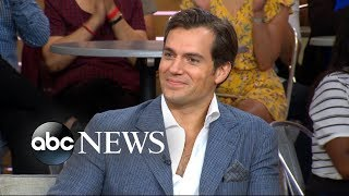 Henry Cavill opens up about