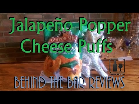 Jalapeño Poppers Cheese Puffs - Behind the Bar Reviews