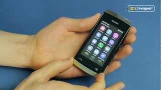 видео COMY | Обзор сенсорного телефона  Nokia Asha 309
