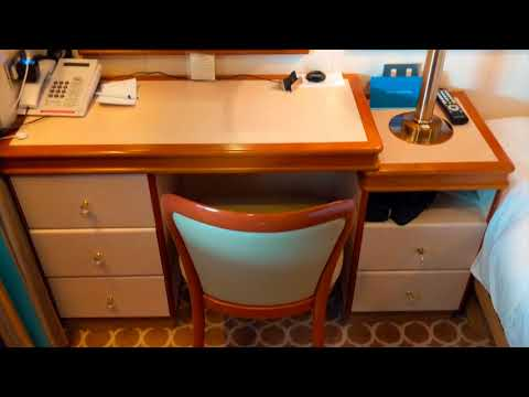 Caribbean Princess Obstructed Oceanview Cabin E515