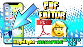 Top/Best FREE PDF Editor for iPhone, iPad, Android, Windows, and Mac - 2018 (PDF Reader)