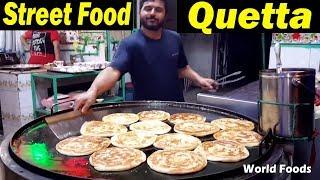 Best Paratha Chai || Ahmed Khan Quetta Restaurant | Quetta Chai Paratha | Quetta Tea