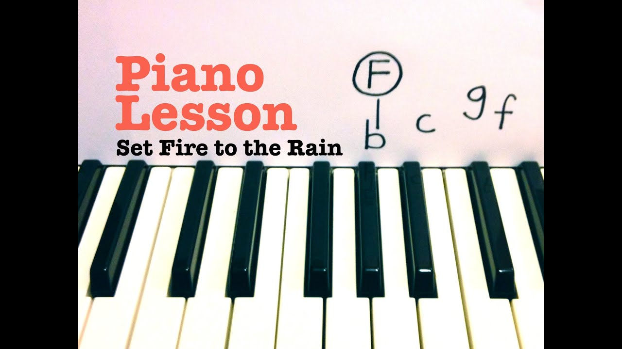 Set fire to the rain piano lesson easy adele todd downing set fire to the rain piano lesson easy adele todd downing hexwebz Choice Image