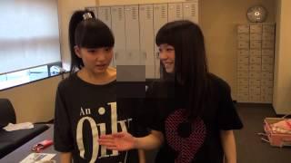 9nine 全国 百聞<一見TOUR 2013 2日目の大阪・なんばHatch公演前の楽屋...