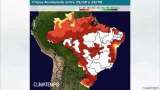 Agosto termina com mais chuva no Sul