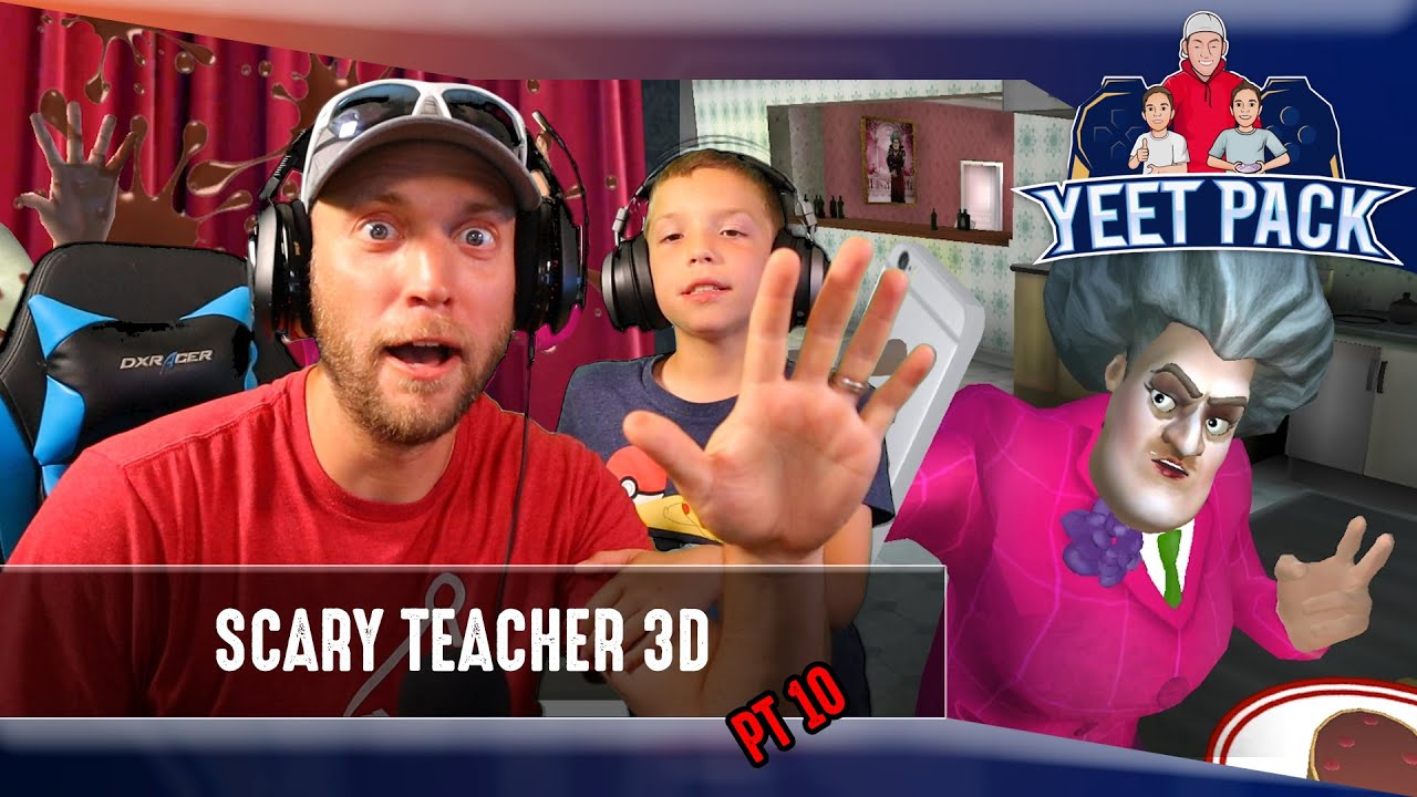 We have to do WHAT! Scary Teacher 3D Cake Prank!