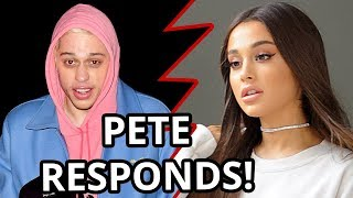 Pete Davidson SHOCKING Reaction To Ariana Grande Breakup!