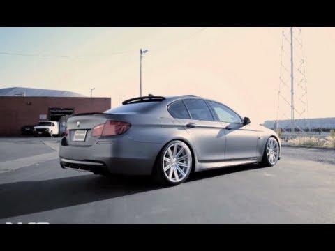 Bmw F10 On 20 Vossen Vvs Cv4 Concave Wheels Rims Youtube