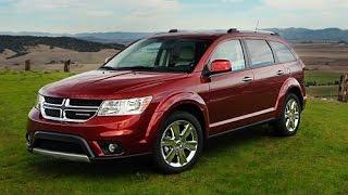 2015 Dodge Journey Start Up and Review 3.6 L V6