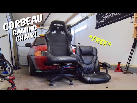 Making A REAL RACING SEAT Into A Chair!