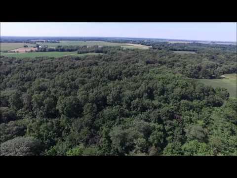 Mr. & Mrs. Darrell Negley Aerial Tour - Hancock County, IL