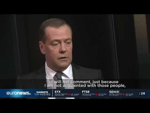 #GME | Russian PM Dmitry Medvedev talks exclusively with Euronews