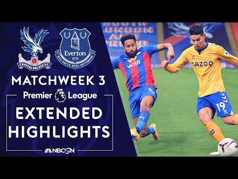 Crystal Palace v. Everton | PREMIER LEAGUE HIGHLIGHTS | 9/26/2020 | NBC Sports