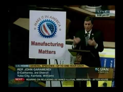 Congressman Garamendi on Jobs and Protecting our Most Vulnerable Citizens