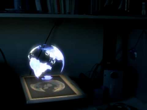 3d Globe Projection Youtube