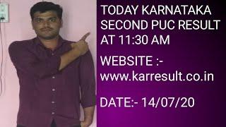 Karnataka puc result 2020