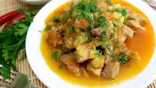 Кабачки с мясом Вкусный и Простой рецепт