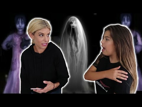 Rebecca and Sophia Grace Search for Ghosts in Our House!