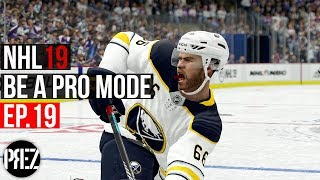 NHL 19 Be A Pro Mode - WE ARE BACK BOYS!! Ep.19 (Xbox One X)
