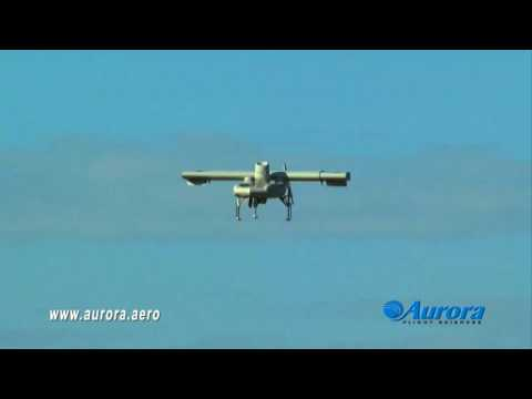 Aurora Excalibur VTOL UAV First Flight