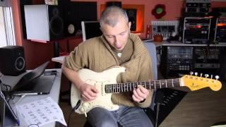 arpeggi a 4 voci con il CAGED su Giant Steps di John Coltrane - lezione Massimo Varini