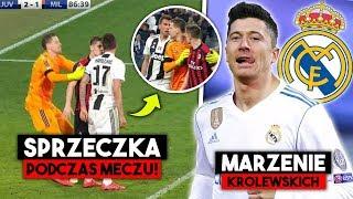 OSTRE STARCIE Piątka z Madziukiciem PODCZAS meczu! Real Madyrt MARZY o transferze Lewadnowskiego