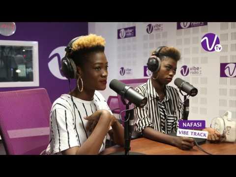 Le groupe NAFASI à Vibe Radio