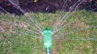 видео Поделки из бутылок для огорода