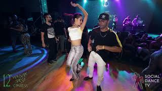 Fadi Fusion & Mileni - Salsa Social Dancing | Balkan Salsa Congress 2018