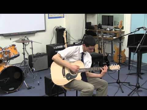 Drifting by Andy McKee - HSC Music Performance