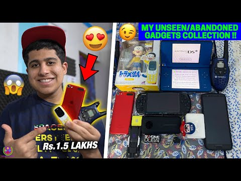 MY HIDDEN GADGETS COLLECTION !! *VERY RARE* 😍😱🔥