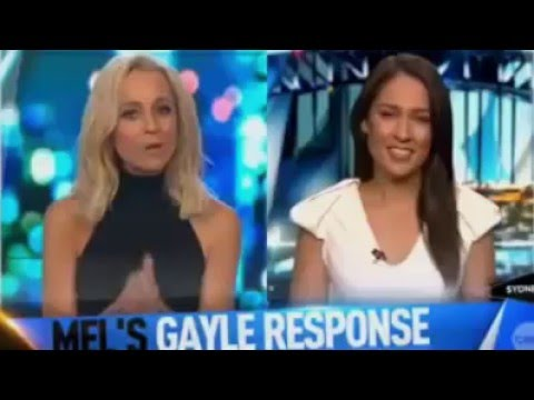 Mel McLaughlin accept Chris Gayle's apology