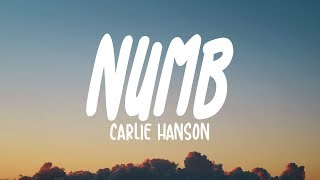 Carlie Hanson Numb Lyrics.mp3