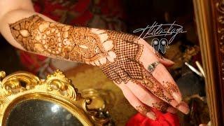 Indian Bridal Mehndi Henna design/Свадебное индийское мехенди, роспись хной